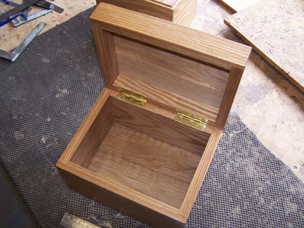 Handcrafted keepsake box