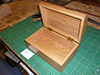Custom wooden box