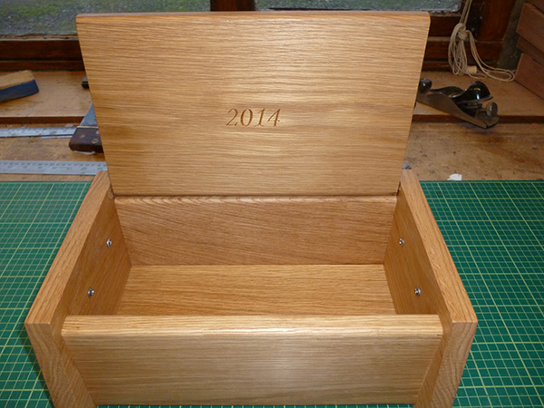Custom crafted box