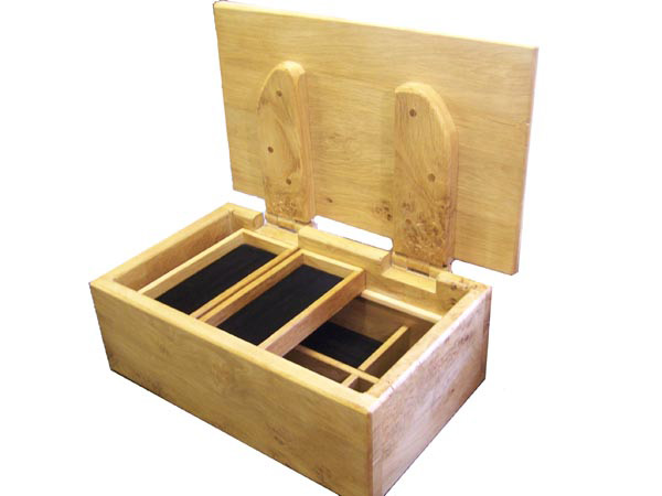 Handcrafted wooden boxes - oak treasure style