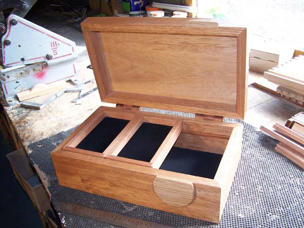Handcrafted jewellery box